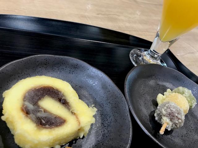 一六タルトの天ぷら