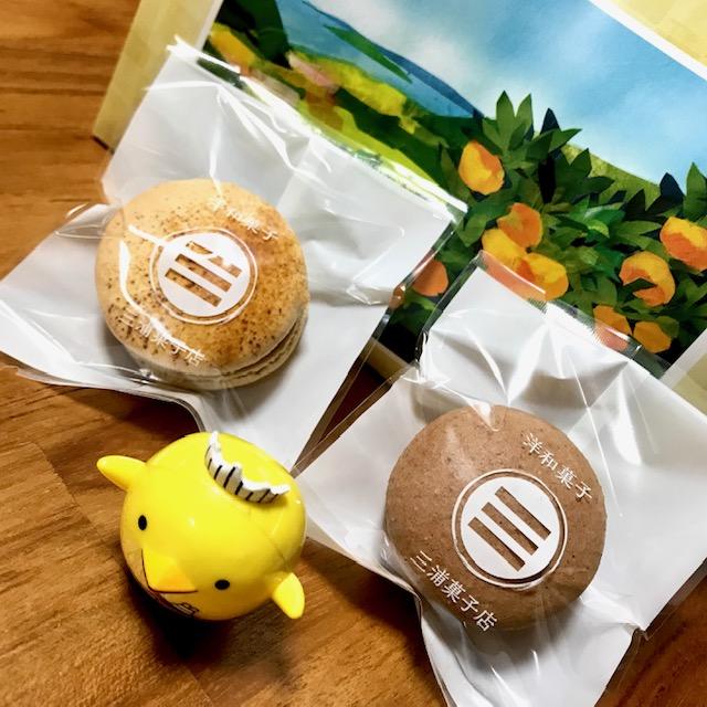 三浦菓子店焼き菓子詰め合わせとマカロン