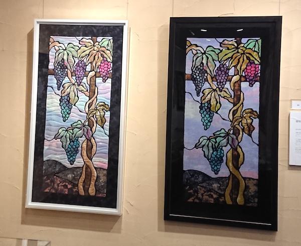 タオル美術館のハワイアンキルト