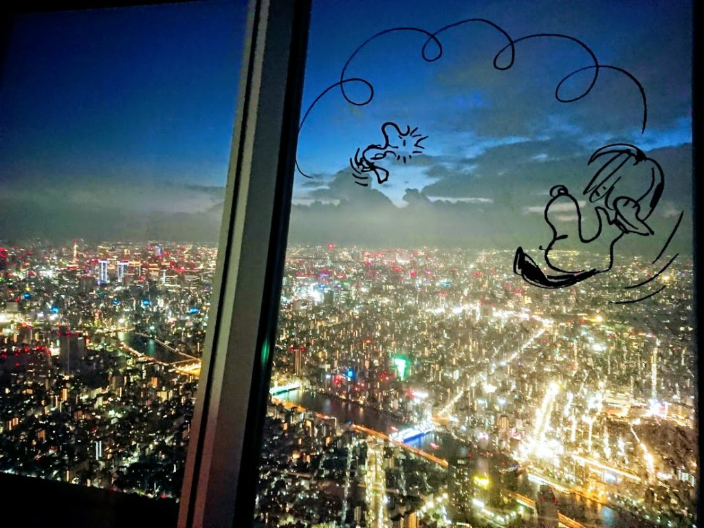 東京スカイツリーwithアストロノーツスヌーピー