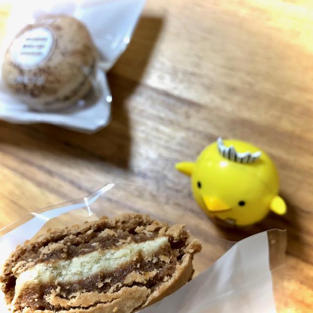 三浦菓子店の和栗マカロン