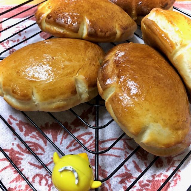 ABCクッキングブレッド基礎クラスのクリームパン