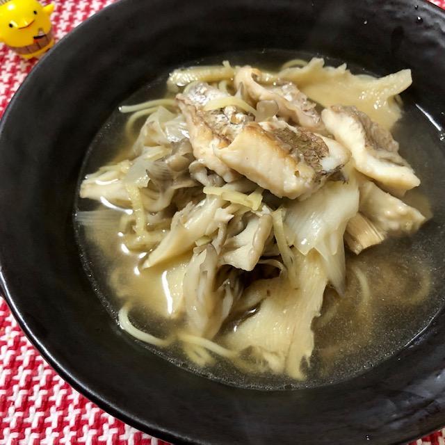 ホテルニューオータニ大阪「門外不出のホテルレシピ」筍と桜鯛の絶品スープそば