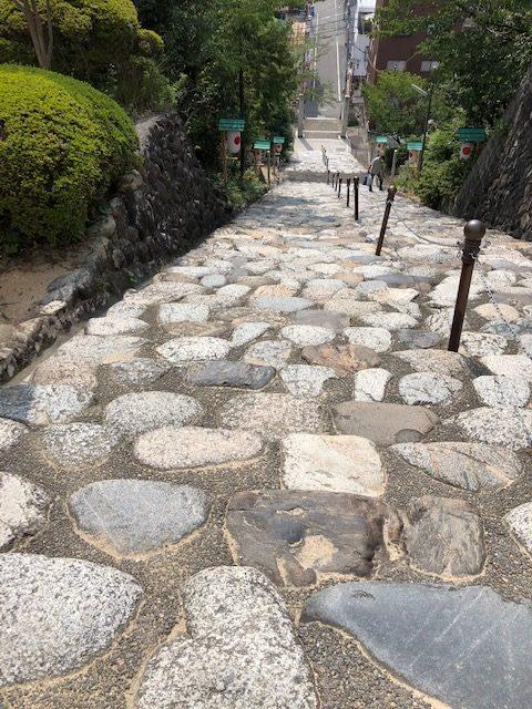 伊佐爾波神社階段