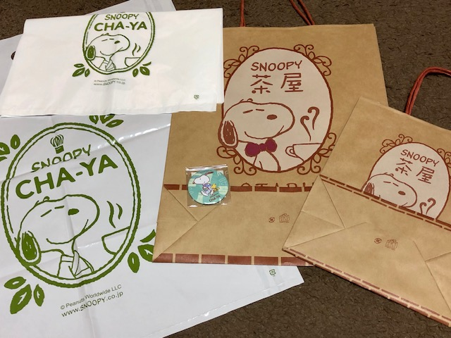 SNOOPY茶屋小樽の紙袋