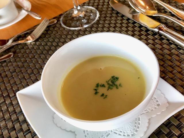 シェタチバナランチのスープ