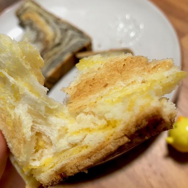 月原ベーカリーのみかんパン