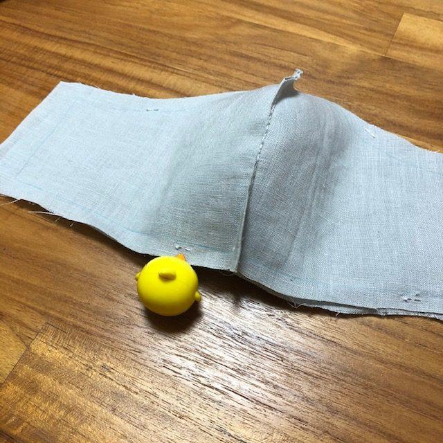 手縫い布マスクの作り方