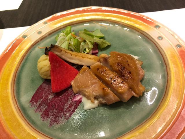 茶玻瑠ディナー肉料理